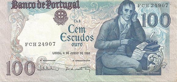 Portugal PTBN100.007.4907 100 Escudos 1985