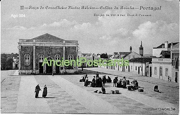 Portugal Ago PTLE0041910 Leiria Caldas da Rainha 1910