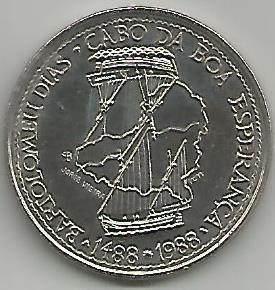 Portugal PT1131988 100 Escudos 1988