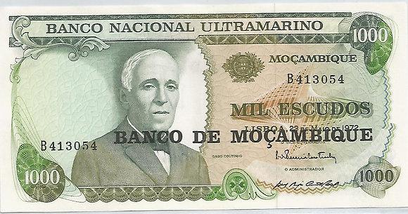 Moçambique MBBN10000023054 1000 escudos 1972