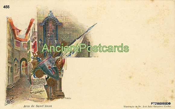 Portugal PTPT455 Porto Almeida Garrett