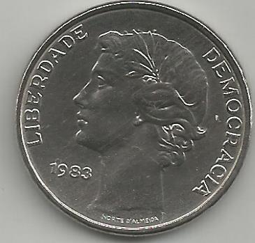 Portugal PT025061983 25 Escudos 1983