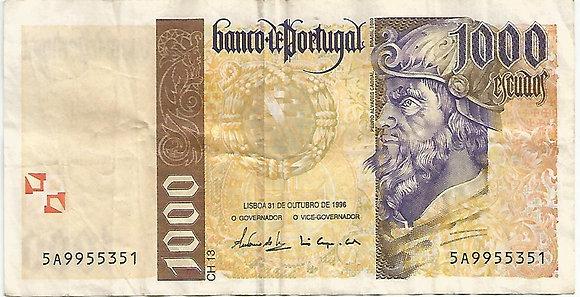 Portugal PTBN1000.0025351 1000 escudos 1996