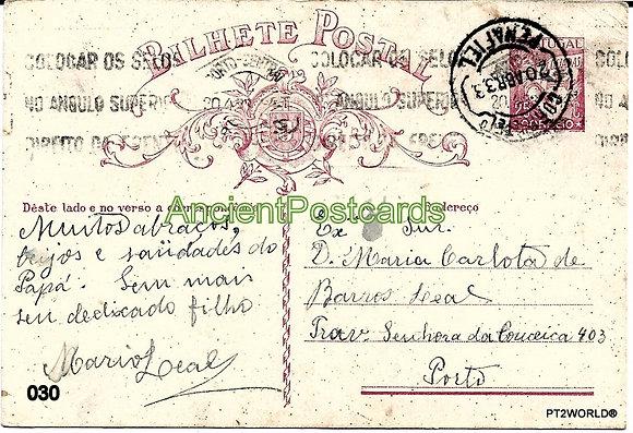 Bilhete Postal PT030/33
