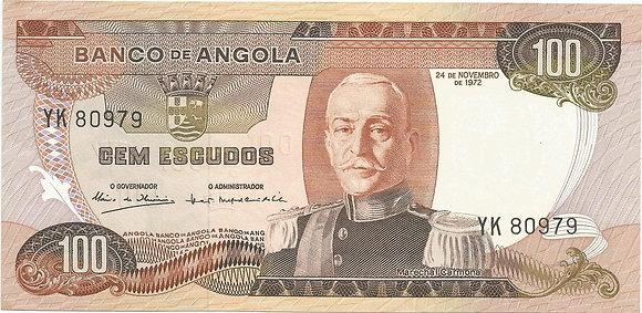 Angola  ANBN1000040979 100 Escudos 1972