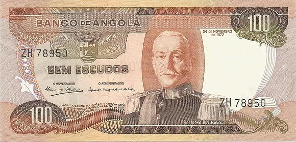 Angola  ANBN1000038950 100 Escudos 1972