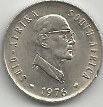 South Africa SAC.0131976 5 Cents 1976