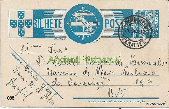 Bilhete Postal PT035/37