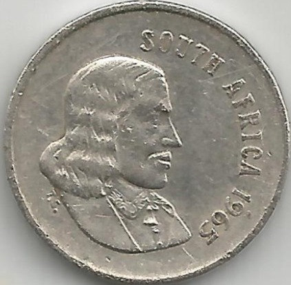South Africa SAC.0061965 5 Cents 1965
