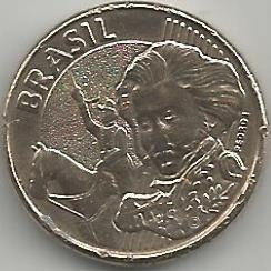 Brasil Coins BRC0032007 10 centavos 2007