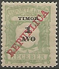 Timor TIS0010011913 Correios de Portugal