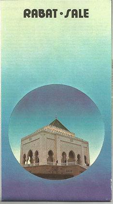 Marroco Tourism Brochures MATB001 Rabat