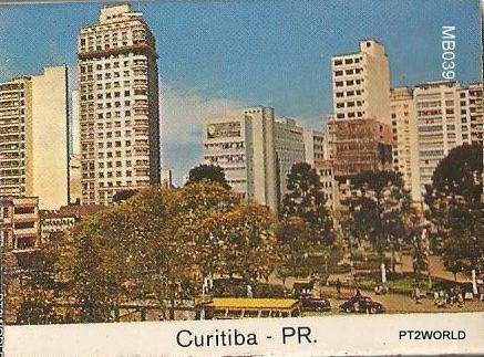 Brasil MatchBoxes BRMB039 Curitiba PR