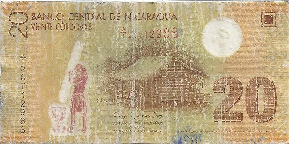 Nicaragua BankNotes NICBN006.12988 20 Cordobas 2007