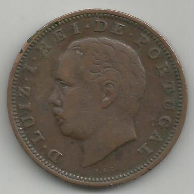 Portugal PTXX1011883 XX Reis 1883