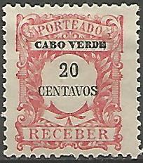 Cabo Verde CVS0020011921 Correios de Portugal