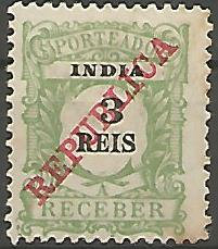 India INS0010011911 Correios de Portugal