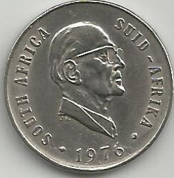 South Africa SAC.0111976 10 Cents 1976