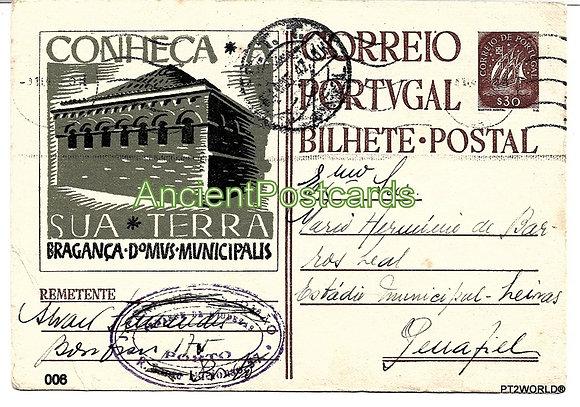 Bilhete Postal PT006/47 - Conheça Sua Terra ( Bragança )