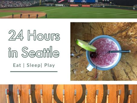 24 Hours in Seattle, Washington
