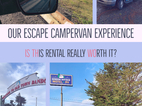 Our Escape Campervan Experience | Is this rental really worth it?