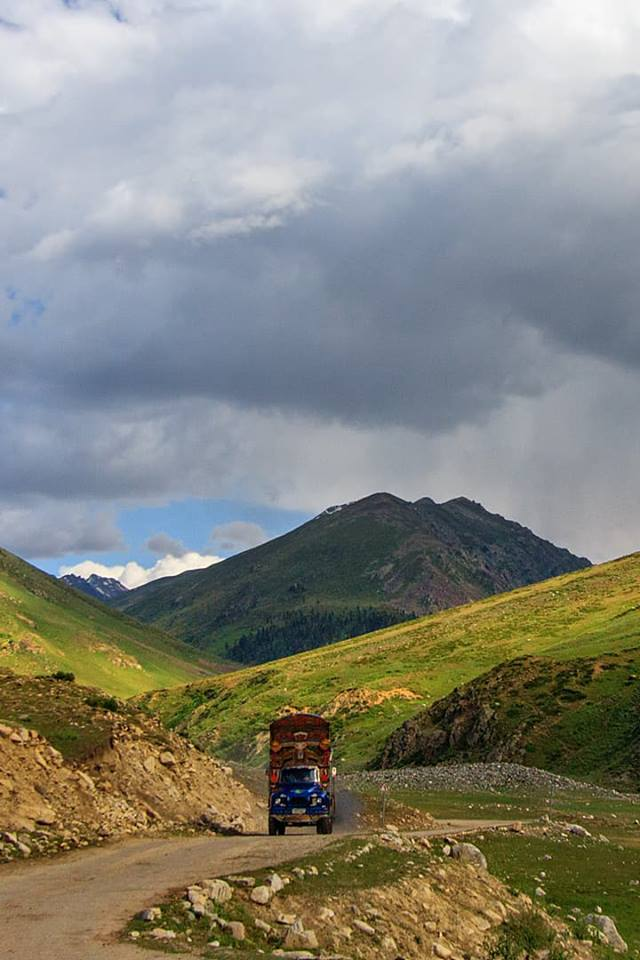 Road to Astore from Chillam, Gilgit-Baltistan