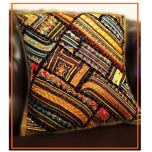 Artistic Hand Made Cushion Cover