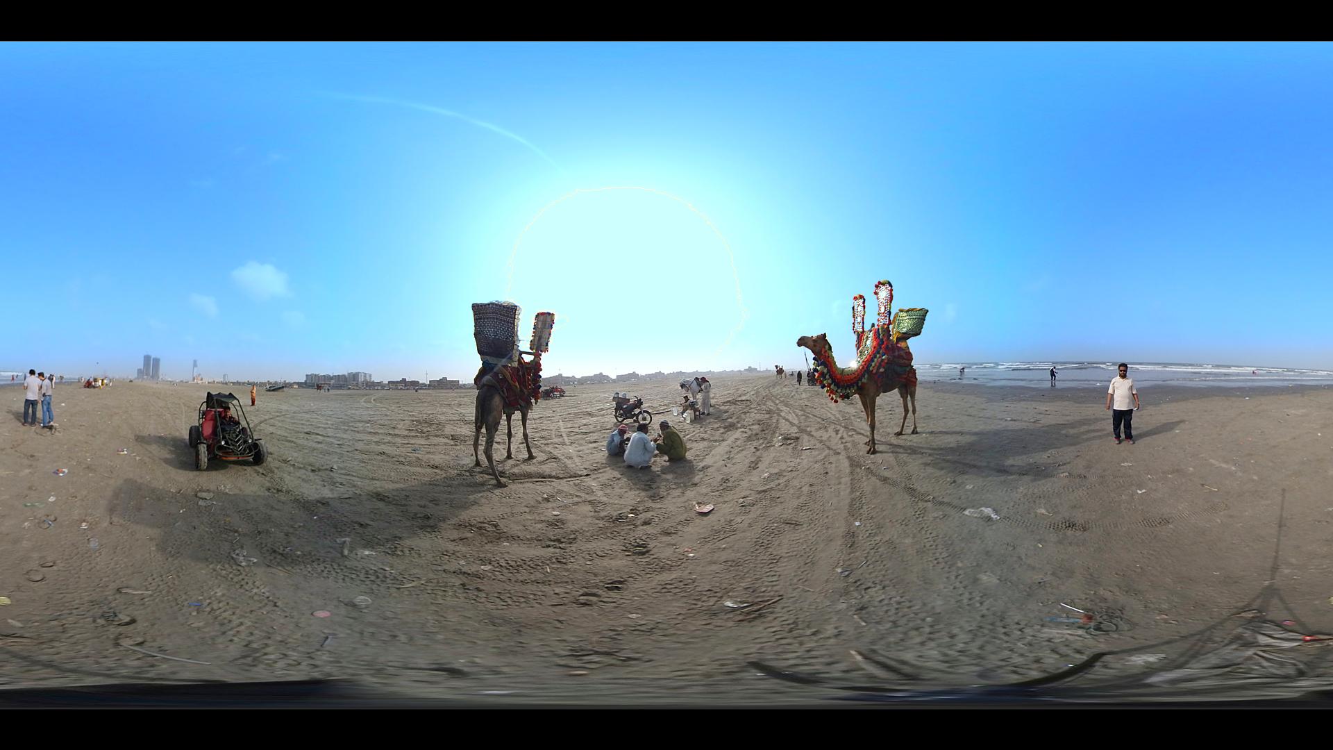 Karachi in 360 VR