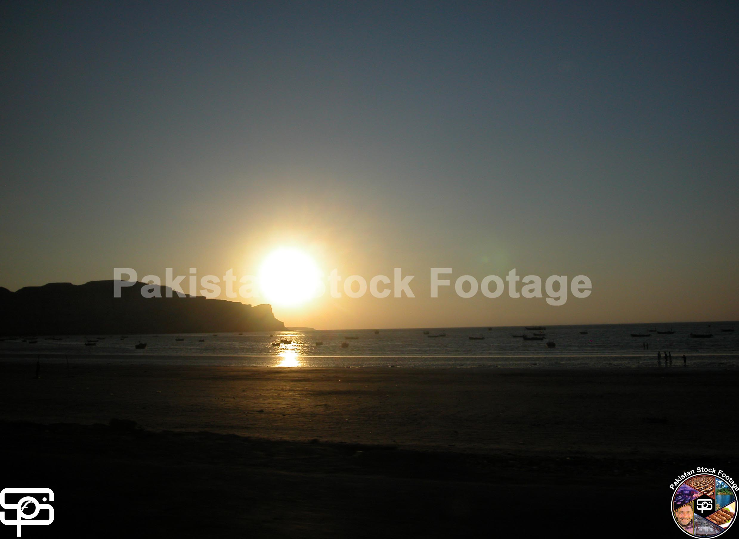Sunset At Gwardar Beach