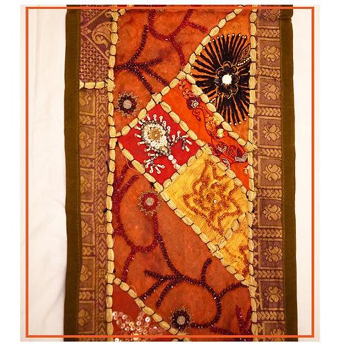 Handmade Embroidered Beautiful Multipurpose Runner