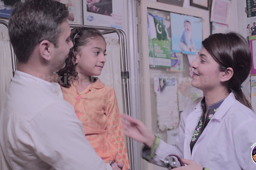 Female doctor at a small Clinic collection