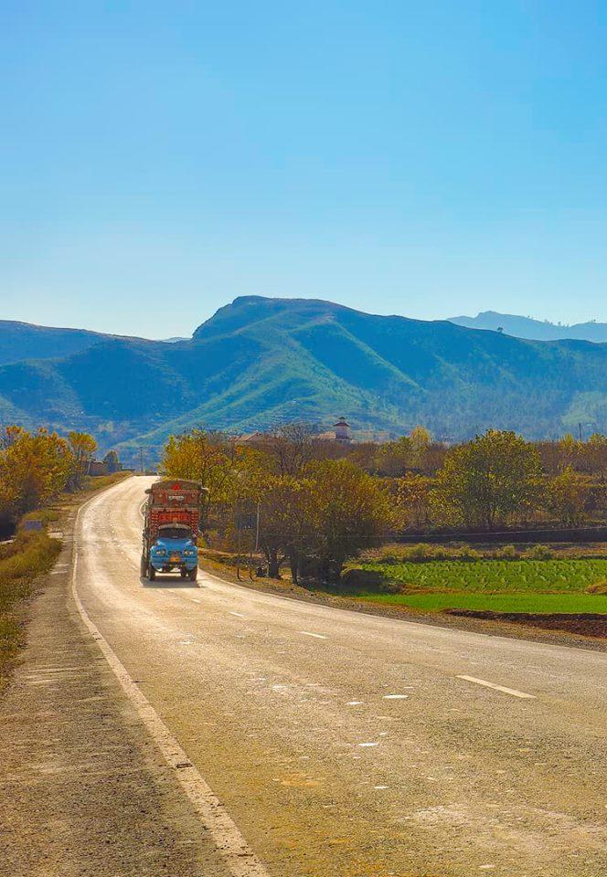 The road to Kabal, Swat, KPK.