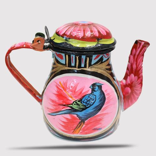 Truck Art Tea Kettle Small (Hand painted)