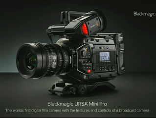 Black Productions acquires the New Digital Film camera Ursa Mini Pro