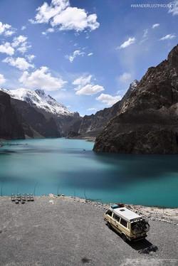 Attabad Lake, Hunza Valley, Gilgit-Baltistan