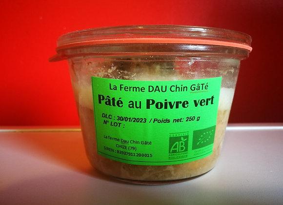 Pâté au poivre vert BIO 250g