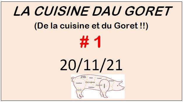 La cuisine dau Goret #1