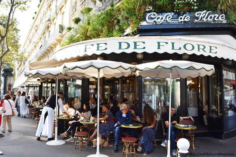 パリのカフェ活用術
