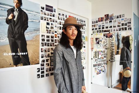 大浦雲平(ファッションデザイナー/CLOUD LOBBY主宰)
