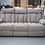 Thumbnail: Reclining Sofa with Drop Down Table