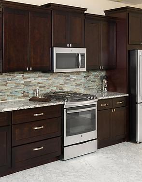 Espresso Shaker Kitchen and Bath Cabinets