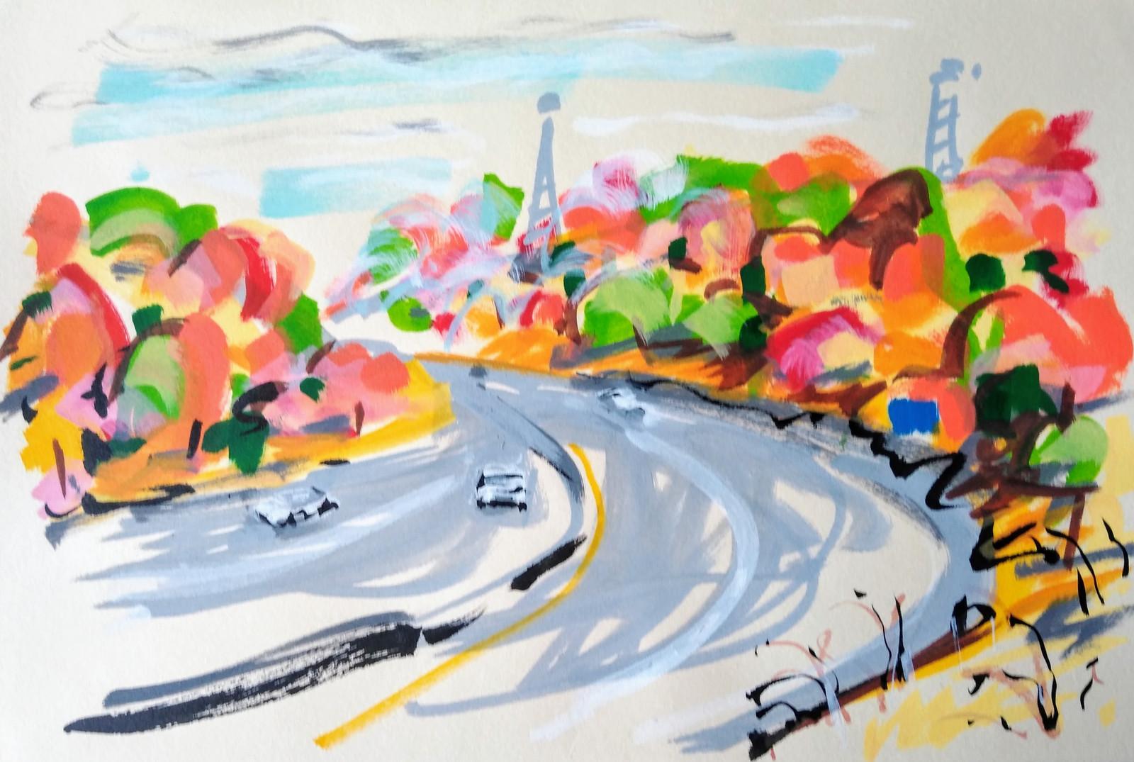 October Highway, MD/PA Line