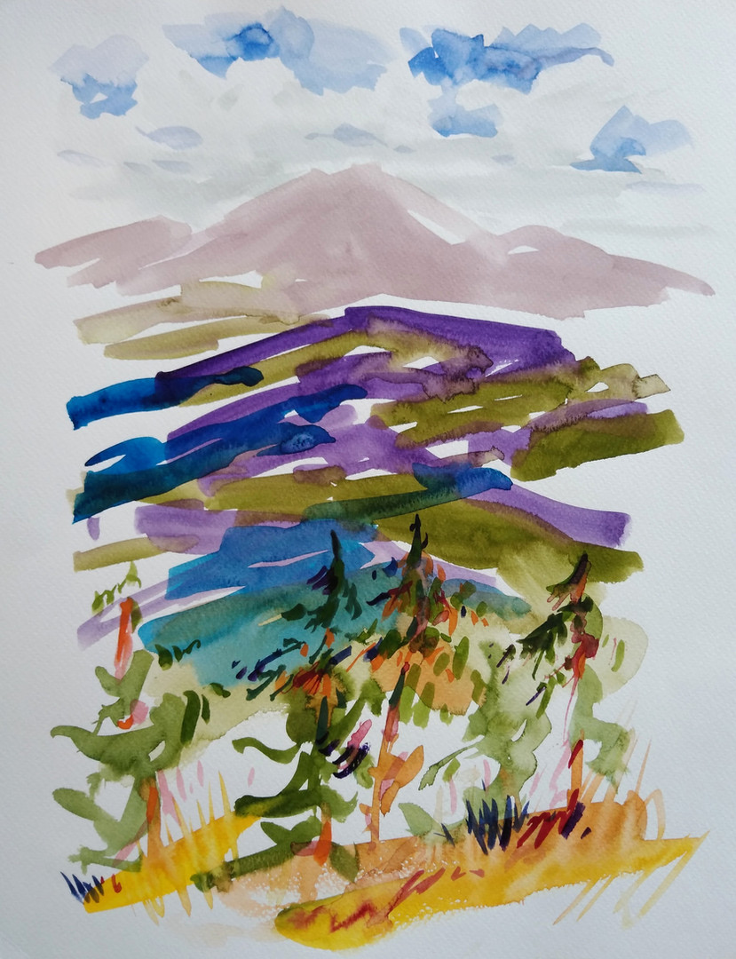 Mountains around Vail, Colorado
