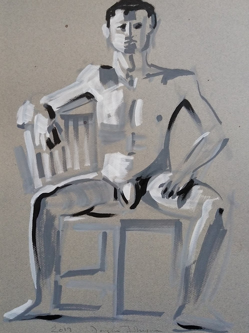 Richard, Seated