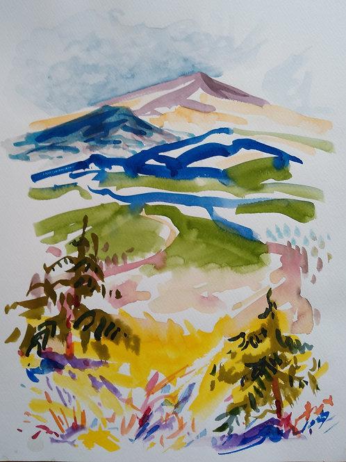 Distant Peak, Vail Colorado