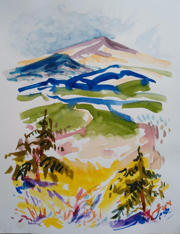 Distant Peak, Vale, Colorado