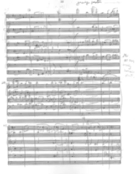 Grounds for String Orchesta Excerpt by Peter Dayton