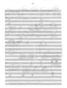 Symphonic Poem: From Forgotten Lands score excerpt by Peter Dayton