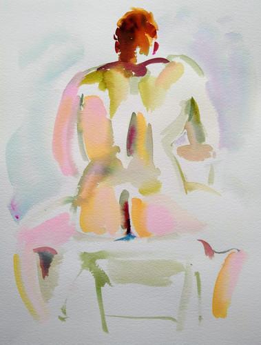Fiery Nude (Douglas Johnson)