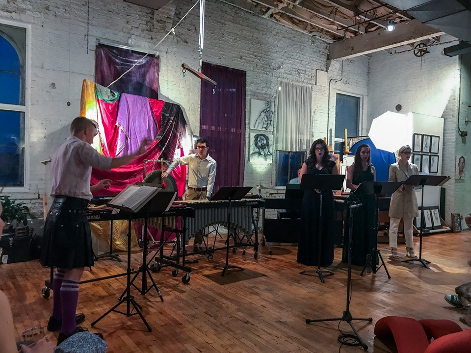 May She Love: Songs and Opera Celebrating Sappho and Stein 3